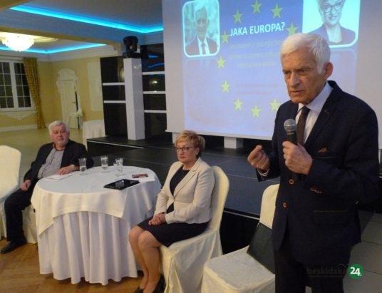 Czechowice: Rozmowy o Europie z Jerzym Buzkiem i Mirosławą Nykiel