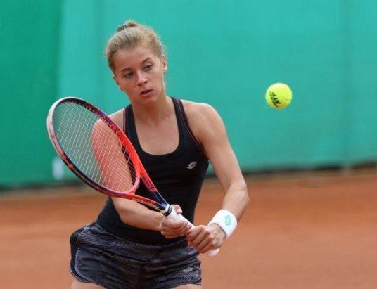 Maja Chwalińska wygrywa w deblu