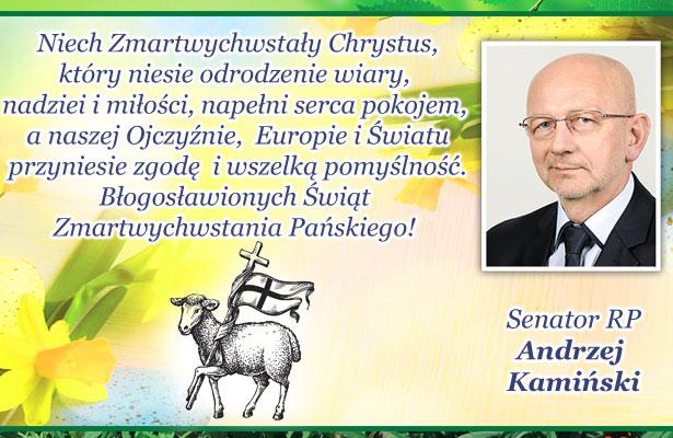 Andrzej Kamiński - życzenia