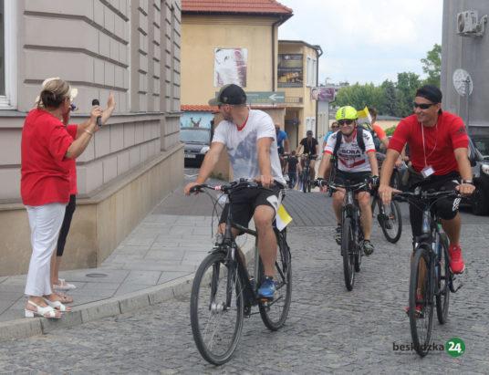 Cykliści spieszą z pomocą
