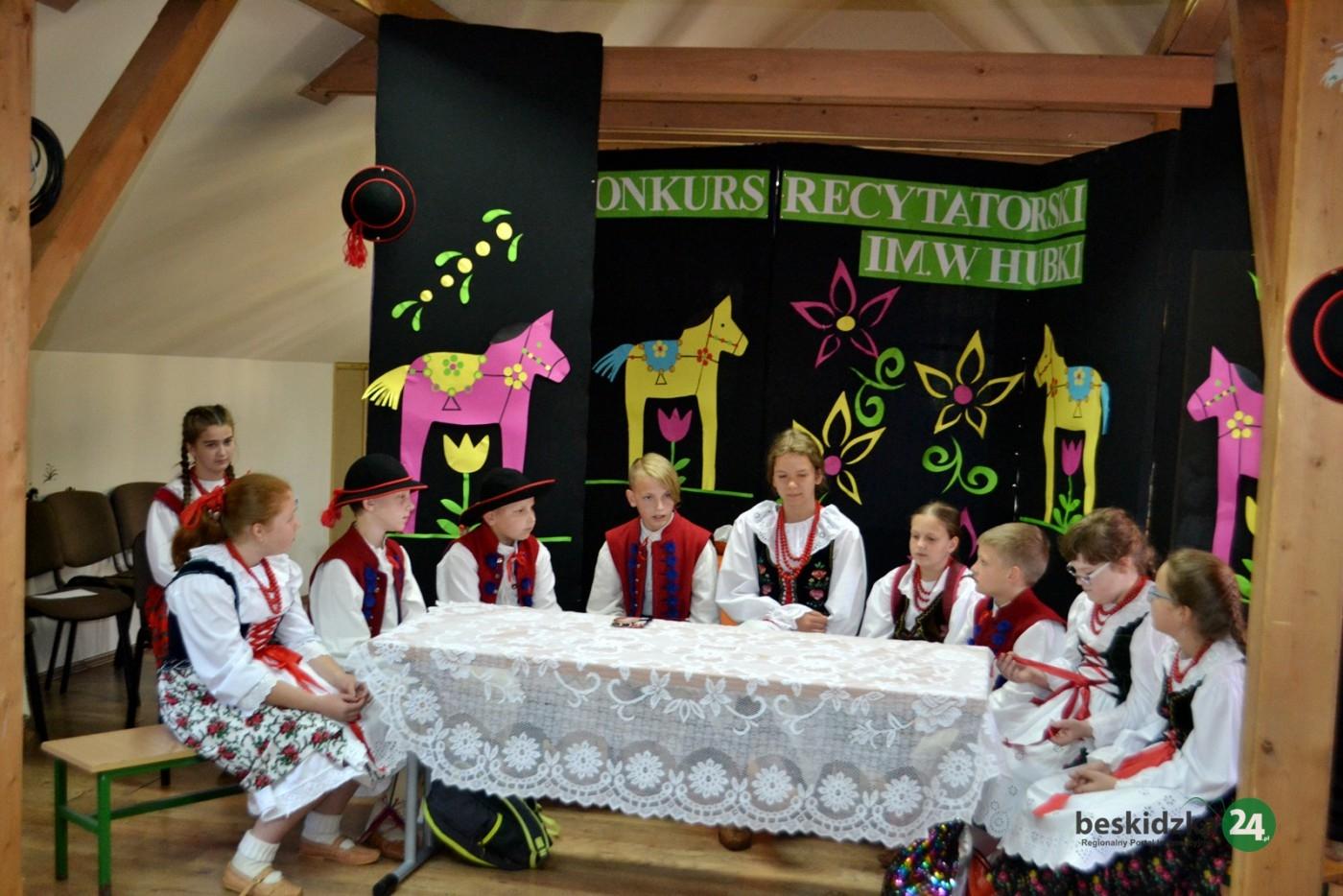 Konkurs Recytatorski W Ujsołach Beskidzka24pl