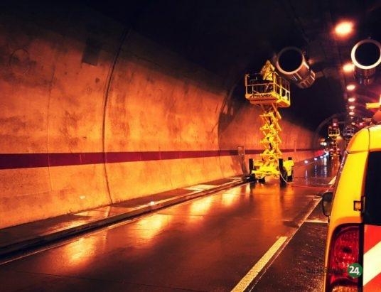 Słowacja: Czasowe zamknięcia tuneli