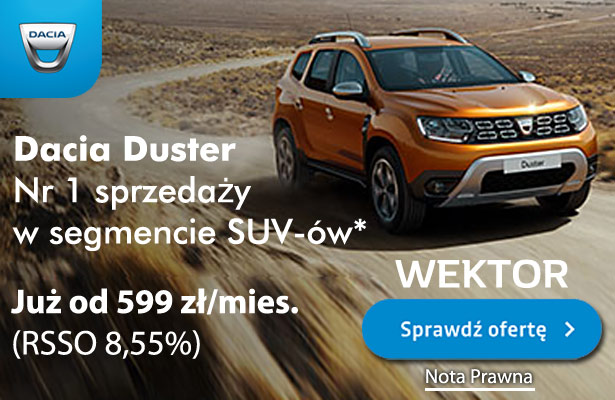 Dacia Duster Wektor