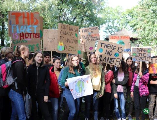 Cieszyn: Młodzi o klimacie