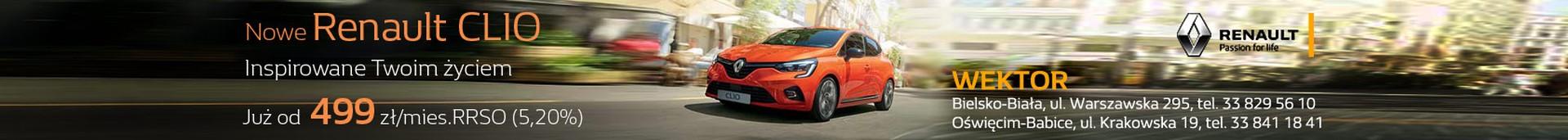 Renault Clio Wektor