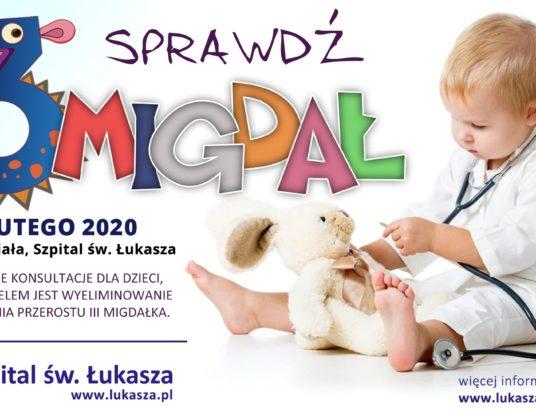 Zbadaj migdałki. Bezpłatne konsultacje laryngologiczne dla dzieci w Bielsku-Białej