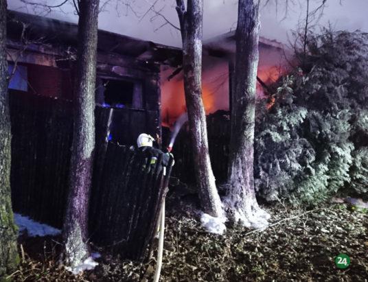 Pożar zakładu przetwórstwa drewna (zdjęcia i wideo)