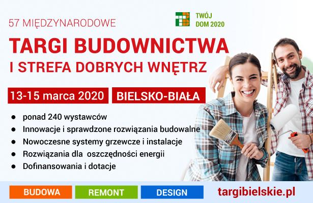 Targi budowlane - wiosna 2020