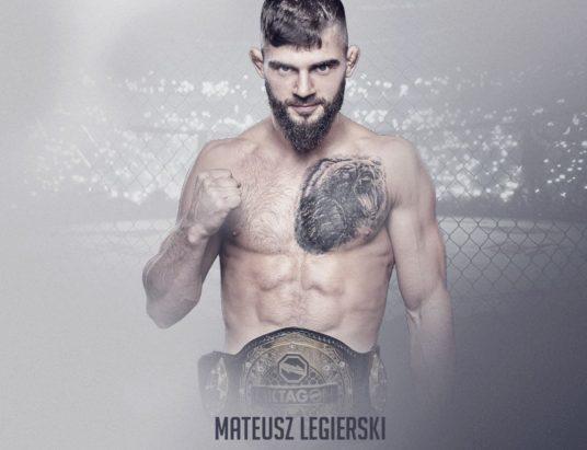Mateusz Legierski zdobył Czechy. Teraz powalczy w KSW!