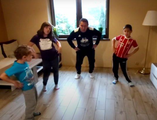 Fajny ruch! Nauczyciel wuefu z Czechowic-Dziedzic podbił serca uczniów