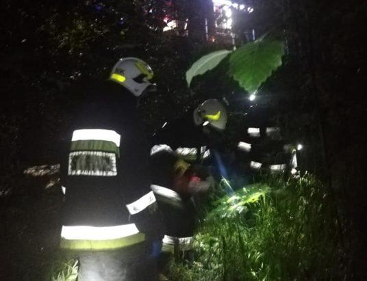 Ujsoły: Nietrzeźwa kobieta spadła z mostu
