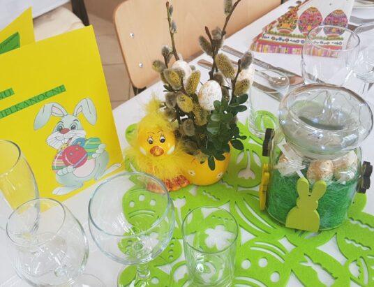 Stół na miarę Wielkanocy
