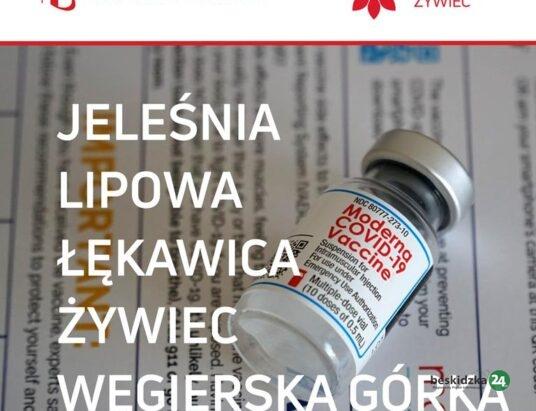 Większy wybór szczepionek w Punktach Szczepień Powszechnych na Żywiecczyźnie
