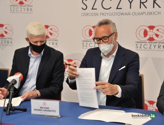 Umowa podpisana. Rusza budowa systemu naśnieżania tras biegowych na Kubalonce