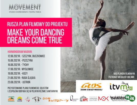 Taneczne marzenia na… ekranie!