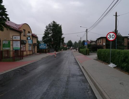 Opóźnienia przebudowy ulicy Stalmacha w Skoczowie