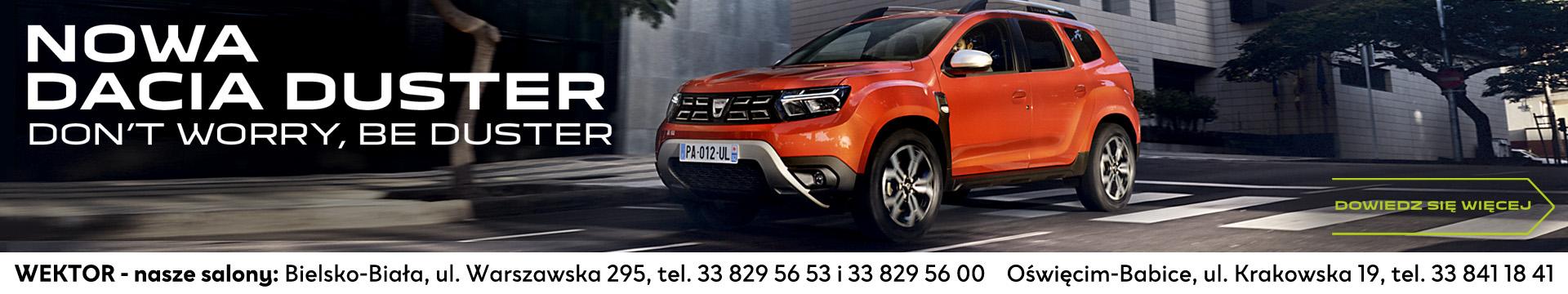 Dacia wrzesień 2021
